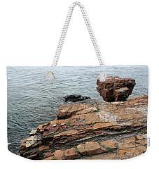 Maine Shoreline 2 Weekender Tote Bag