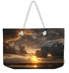 Weekender Tote Bag featuring the photograph Majestic Sunset by Athena Mckinzie