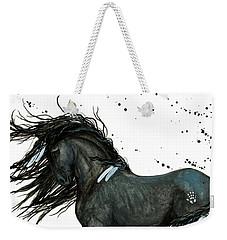 Majestic Friesian Horse 112 Weekender Tote Bag
