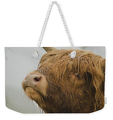 Majestic Highland Cow Weekender Tote Bag
