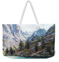 Majestic Montana Weekender Tote Bag by Patti Gordon