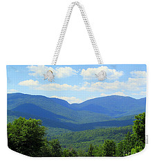 Majestic Mountains Weekender Tote Bag by Elizabeth Dow