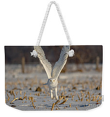 Majestic Snowy Weekender Tote Bag