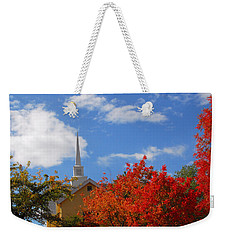 Weekender Tote Bag featuring the photograph Majesty by Lynn Bauer