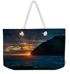 Makapuu Sunrise Weekender Tote Bag by Dan McManus