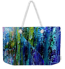 Make A Splash With Abstract  Weekender Tote Bag by Kimberlee Baxter