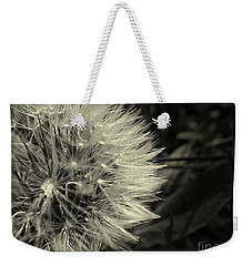 Weekender Tote Bag featuring the photograph Make A Wish by Clare Bevan