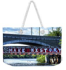 Make History Boston Weekender Tote Bag
