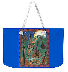Make Mine Blue Weekender Tote Bag