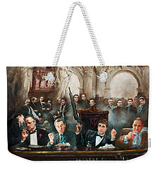 Make Way For The Bad Guys Col Weekender Tote Bag