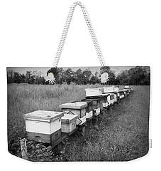 Making Honey II Bw Weekender Tote Bag