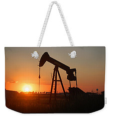 Making Tea At Sunset 2 Weekender Tote Bag by Leticia Latocki