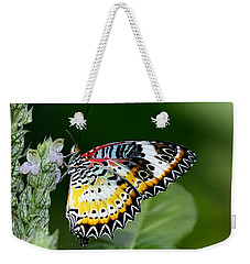 Malay Lacewing Butterfly Weekender Tote Bag