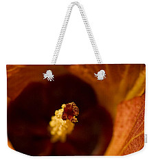 Maldivian Flower Weekender Tote Bag by Dee Cresswell