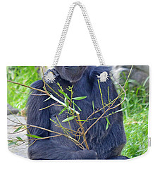 Male Ape Weekender Tote Bag by Jim Fitzpatrick