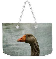 Male Graylag Goose Profile Weekender Tote Bag