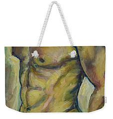 Nude Male Torso Weekender Tote Bag