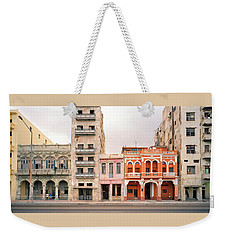Malecon In Havana Weekender Tote Bag by Shaun Higson