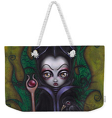 Maleficent  Weekender Tote Bag by Abril Andrade Griffith