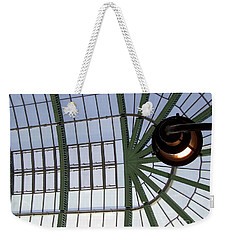 Weekender Tote Bag featuring the photograph Mall Of Emirates Skylight by Andrea Anderegg