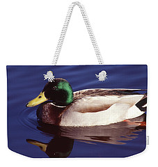 Mallard In The Mirror Weekender Tote Bag
