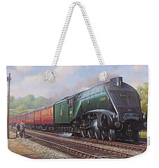 Mallard On The Elizabethan. Weekender Tote Bag
