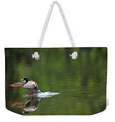 Mallard Splash Down Weekender Tote Bag