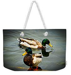 Mallards On Mendota Weekender Tote Bag