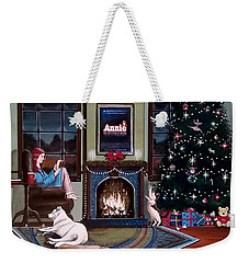 Mallory Christmas Weekender Tote Bag