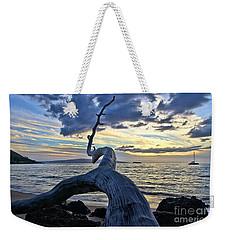 Maluaka Beach Sunset Weekender Tote Bag