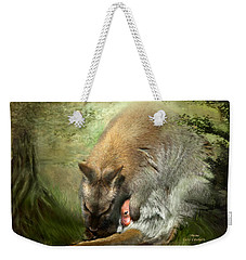 Mama Weekender Tote Bag by Carol Cavalaris