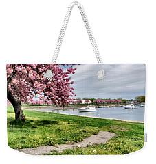 Mamaroneck Harbor Weekender Tote Bag