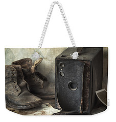 Weekender Tote Bag featuring the photograph Mama's Memories by Amy Weiss
