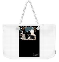 Weekender Tote Bag featuring the digital art Mamia Mia by Ann Calvo
