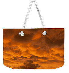 Mammatus Clouds Weekender Tote Bag