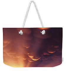 Mammatus Sunset Over Colorado Weekender Tote Bag