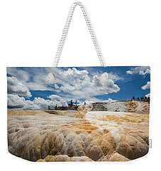 Mammouth Terraces Weekender Tote Bag