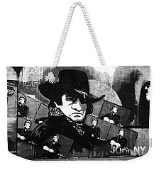 Man In Black Weekender Tote Bag