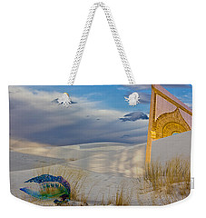 Man Of War Approaching Golden Gate Weekender Tote Bag