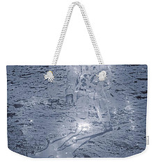 Man On The Moon Weekender Tote Bag by Dan Sproul