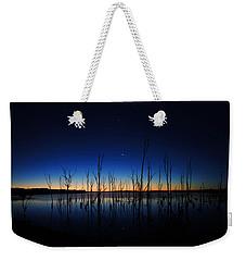 Manasquan Reservoir At Dawn Weekender Tote Bag