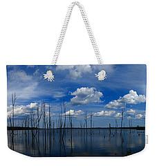 Manasquan Reservoir Panorama Weekender Tote Bag