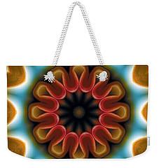 Mandala 100 Weekender Tote Bag by Terry Reynoldson