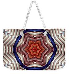 Mandala 12 Weekender Tote Bag by Terry Reynoldson
