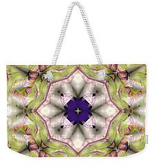 Mandala 127 Weekender Tote Bag by Terry Reynoldson