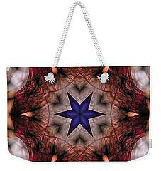 Mandala 14 Weekender Tote Bag by Terry Reynoldson