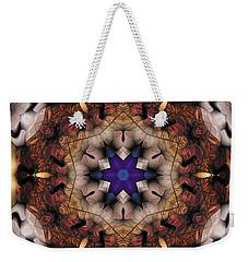 Mandala 16 Weekender Tote Bag by Terry Reynoldson