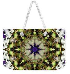 Mandala 21 Weekender Tote Bag by Terry Reynoldson