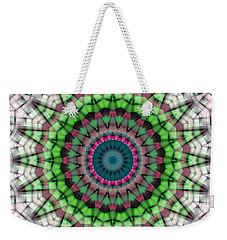 Mandala 26 Weekender Tote Bag by Terry Reynoldson