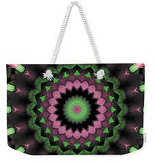 Mandala 34 Weekender Tote Bag by Terry Reynoldson
